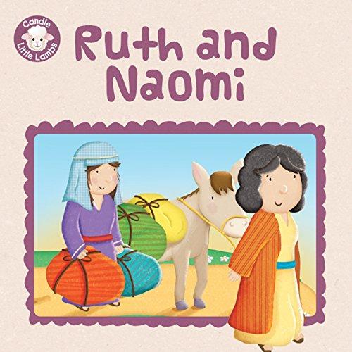 Ruth and Naomi (Candle Dollop Lambs)