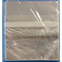 OPP Resealable Bags for Slim 5.2mm CD Jewel Cases, 500-Pack