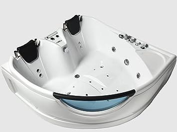 Superior ARIEL BT 150150 Whirlpool Bathtub With Hydro Massage