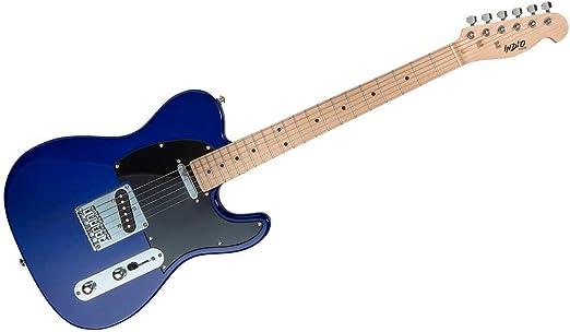Indio Retro Classic guitarra eléctrica con funda bag-blue: Amazon ...