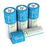 4 IFR 14430 3.2v LiFePO4 Lithium Phosphate Rechargeable Batteries Baseline Battery 400mAh Solar Garden Light