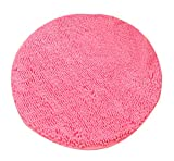 Heavy Multi-size Round Carpet Floor Area Rug Doormat Chenille Shaggy LivebyCare Ground Rugs Entrance Entry Way Front Door Mat Runner for Decor Decorative Boys Girls Bed Room