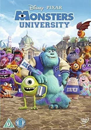 amazon co jp monsters university dvd import dvd ブルーレイ