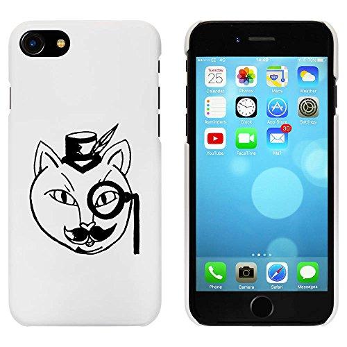 Blanc 'Fantaisie Chat' étui / housse pour iPhone 7 (MC00075722)
