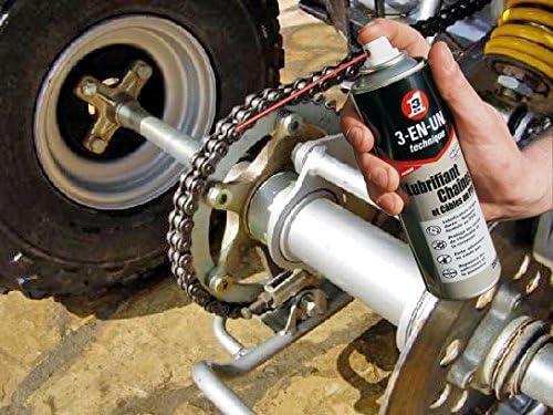3-EN-UNO Profesional - Lubricante de cadenas con PTFE en Spray-250 ...