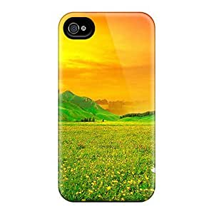 Quality Mwaerke Case Cover With Sakura Sunset Nice Appearance Compatible With Iphone 4/4s