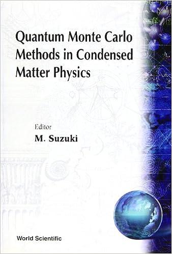 Book Quantum Monte Carlo Methods in Condensed Matter Physics