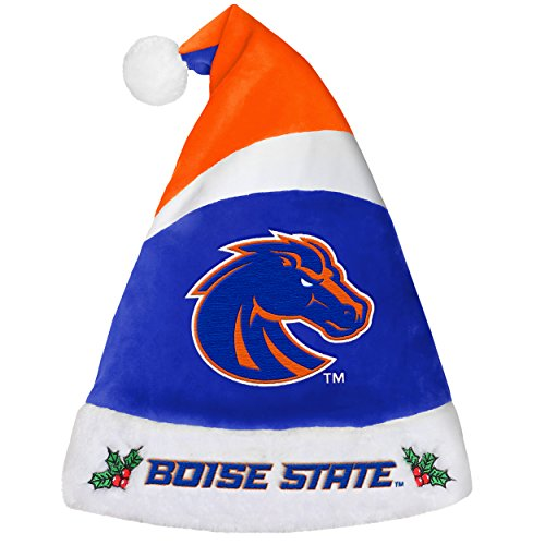 Boise State Football Gear (NCAA Boise State Broncos 2016 Basic Santa Hat, Blue, One Size)