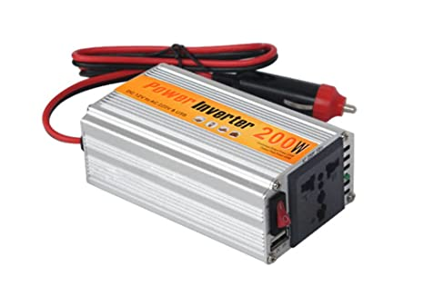 Accedre 200w Dc To Ac Car Power Inverter With Usb For Mobile
