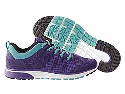 Damen Laufschuhe Sportschuhe Sneaker Fitness, violett, Größe 38