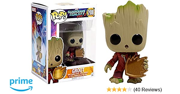 Christmas Groot Funko Pop.Funko Pop Groot With Candy Gotg2 264 Hot Topic Exclusive