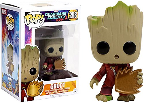 Funko Pop Vinyl Guardians of the Galaxy Vol. 2 Baby Groot With Shield