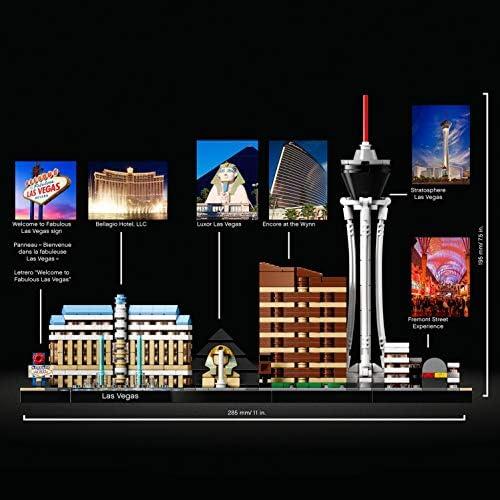 LEGO 21047 Architecture - Las Vegas Skyline-Kollektion