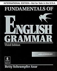Fundamentals of English Grammar: With Answer Key (Black): With Answer Key (Black), International Version (Azar English Grammar)