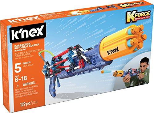K-FORCE Barracuda Rotoshot Blaster Building Set (129 Piece) JungleDealsBlog.com