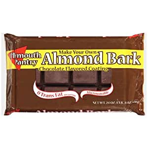 Plymouth Pantry Almond Bark Chocolate Baking Bar, 24oz Bag (Pack of 3)