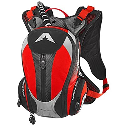American Kargo 3519-0008 Red Turbo 2.0 Hydration Pack