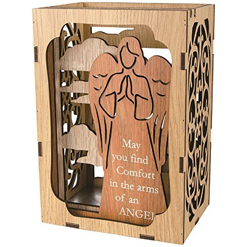 Carson Angel Shadow Box 4.25 Inches Width x 6 Inches Height x 3.25 Inches Diameter Home Decor by Carson