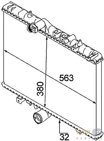 citroen c5 8mk376745071 radiator by hella amazon co uk car motorbike K7 Car