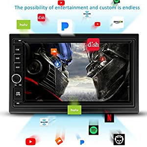 Android Car Stereo Double Din Car Stereo Double Din GPS Car Stereo With Bluetooth Touch Screen Radio GPS for Car Android Head Unit Android Double Din GPS Navigation for Car Double Din Android 7.1