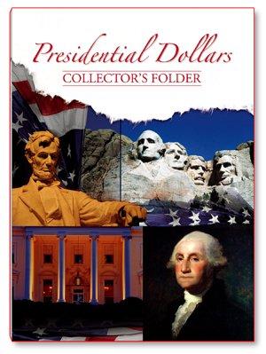 Presidential Dollars Collector's Folder 2179 Whitman New Folder