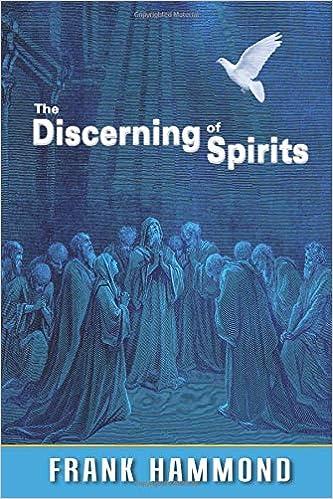 The Discerning Of Spirits Frank Hammond 9780892283682 Com Books