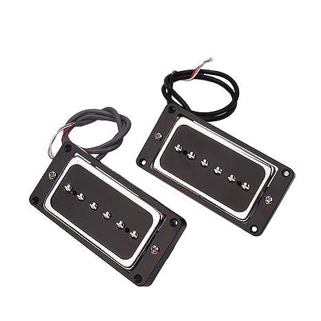 HEALLILY - Kit de pastilla humbucker para guitarra eléctrica y ...