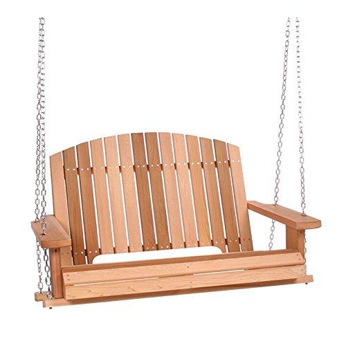 Cedar Pergola Swing Seats up to 2 (Cedar Pergola Swing Set)