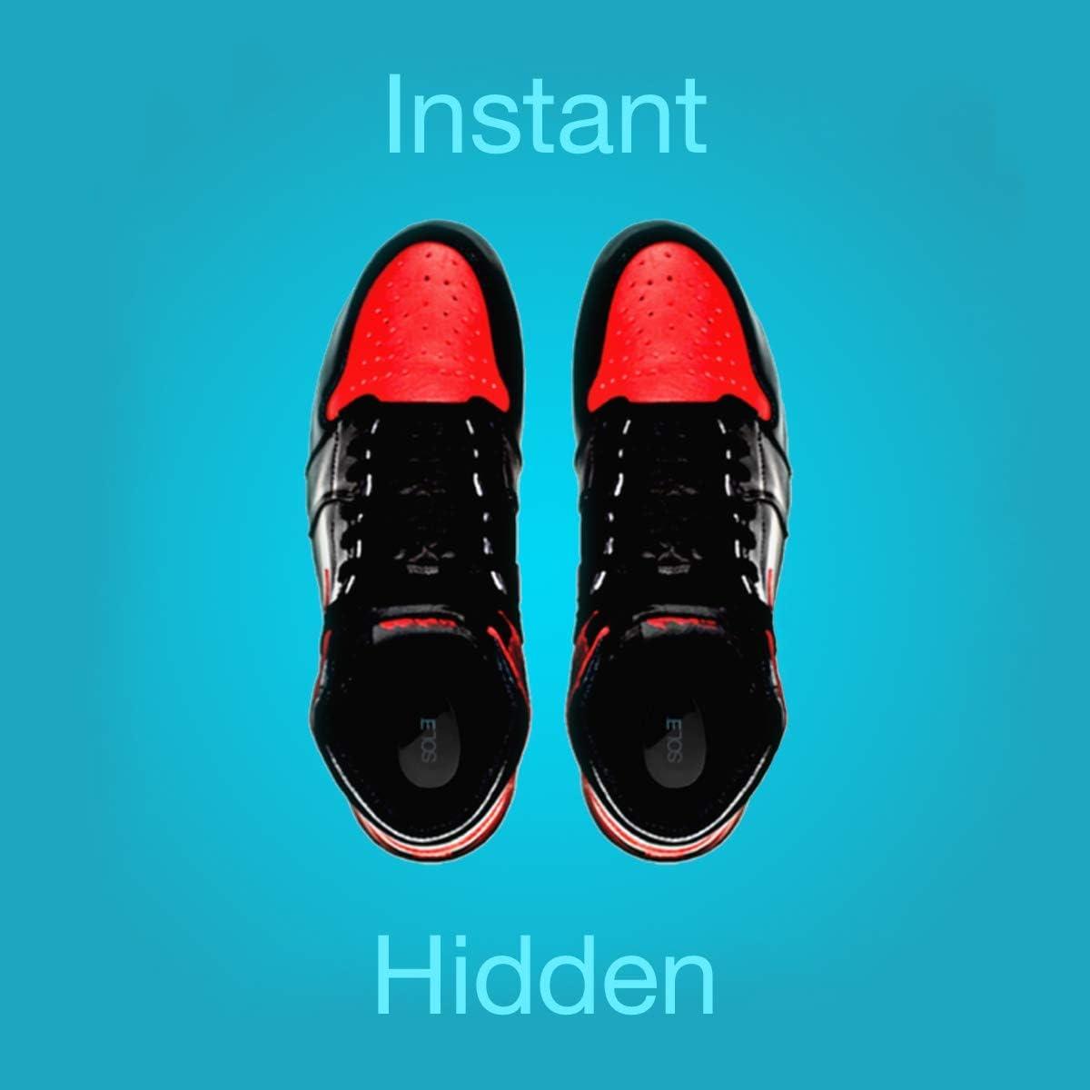 Insole Heel Lift Insert Shoe Pad Height Increase Cushion Elevator Taller Uni HTC