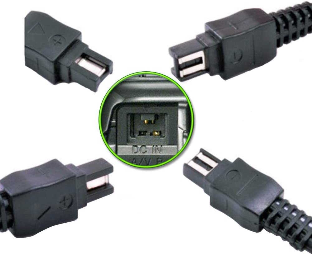 AC-L200 AC Power Adapter Charger TKDY kit for Sony Handycam DCR-SX40 DCR-SX41,DCR-SX44,DCR-SX45,DCR-SX60,DCR-SX63,DCR-SX65,DCR-DVD7 DVD105 DVD108 DVD203 DVD205 DVD305 DVD308 DVD610 Camcorder.
