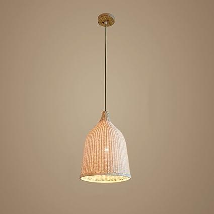 adjustable lighting fixtures. Baycher 29 Cm Modern Simple Country Craft Bamboo Pendant Lamp Grass Rattan Willow Wooden Ceiling Lights Adjustable Lighting Fixtures