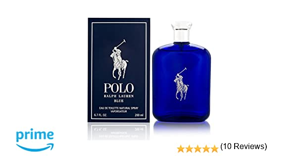 Ralph Lauren Polo Blue Eau de Toilette Vaporizador 200 ml: Amazon.es