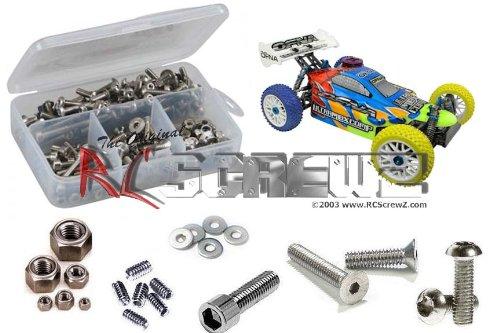 RCScrewZ OFNA MBX Pro Stainless Steel Screw Kit #ofn011