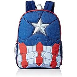 Marvel Little Boys Captain America 16 Inch Backpack,