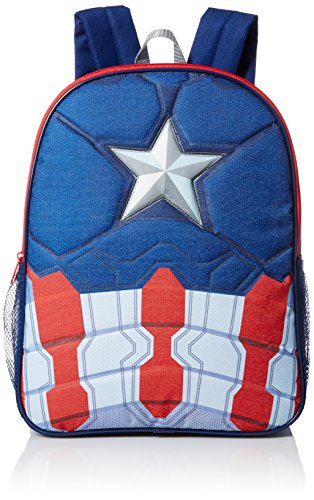 Marvel Little Boys Captain America 16 Inch Backpack