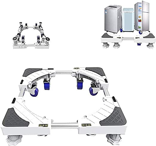 GUO Base Ajustable Movible, Soporte De Refrigerador con Base Móvil ...