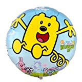 "Wubbzy Wow Wow 18"" Happy Birthday Nick Jr. Balloon Party Supplies"