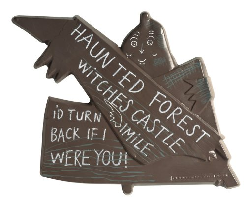 Wizard of Oz Haunted Forest Sign, 75th Anniversary