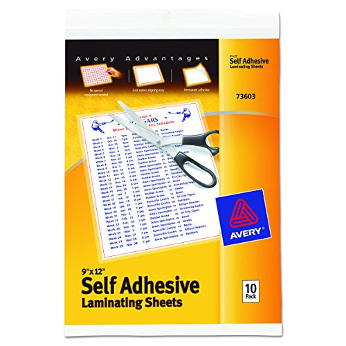 Self Adhesive Laminating Sheets - 2