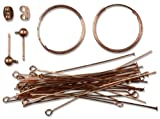 Cousin Jewelry Basics Earring Starter, Copper, 51-Piece