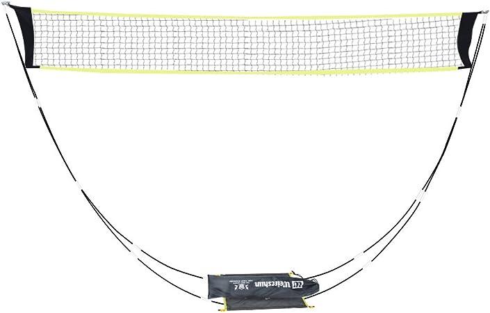 ZoeDul Portable Badminton Net Set Stand Carrying Bag Volleyball Beach Outdoor Garden