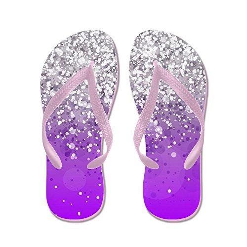 CafePress Glitteresques IV - Flip Flops, Funny Thong Sandals, Beach Sandals Pink