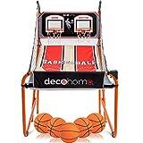 Deco Home Arcade Basketball Game with Dual Rim
