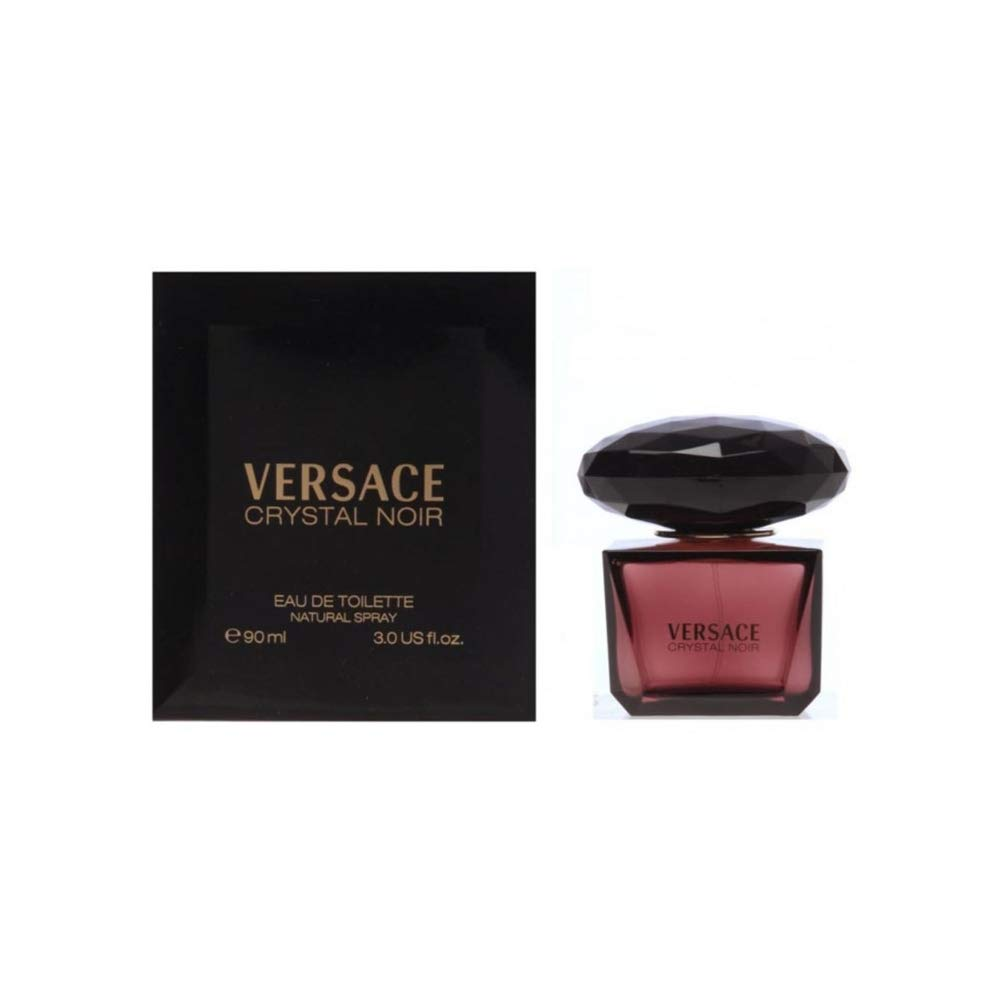 Versace Crystal Noir by Versace for Women - 3 Fl Oz EDT Spray by Versace