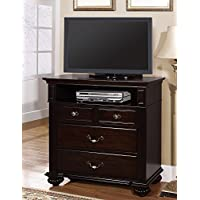 247SHOPATHOME Idf-7129TV Drawers, media chest, Walnut
