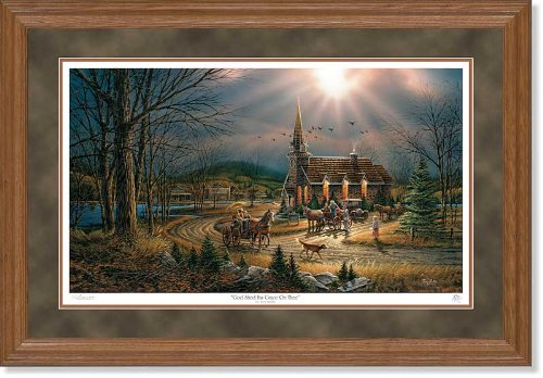 Wild Wings God Shed His Grace on Thee Framed Limited Edition Print by Terry Redlin