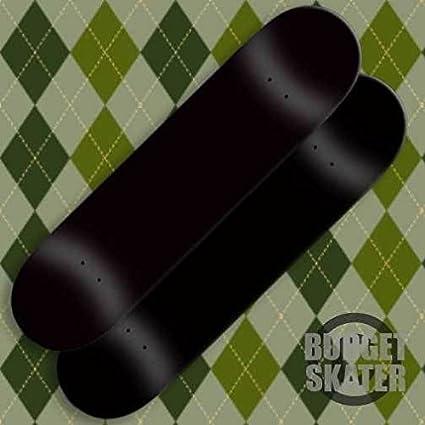 Amazon com : 2 Blank Skateboard Decks - 8 In - Dip Black