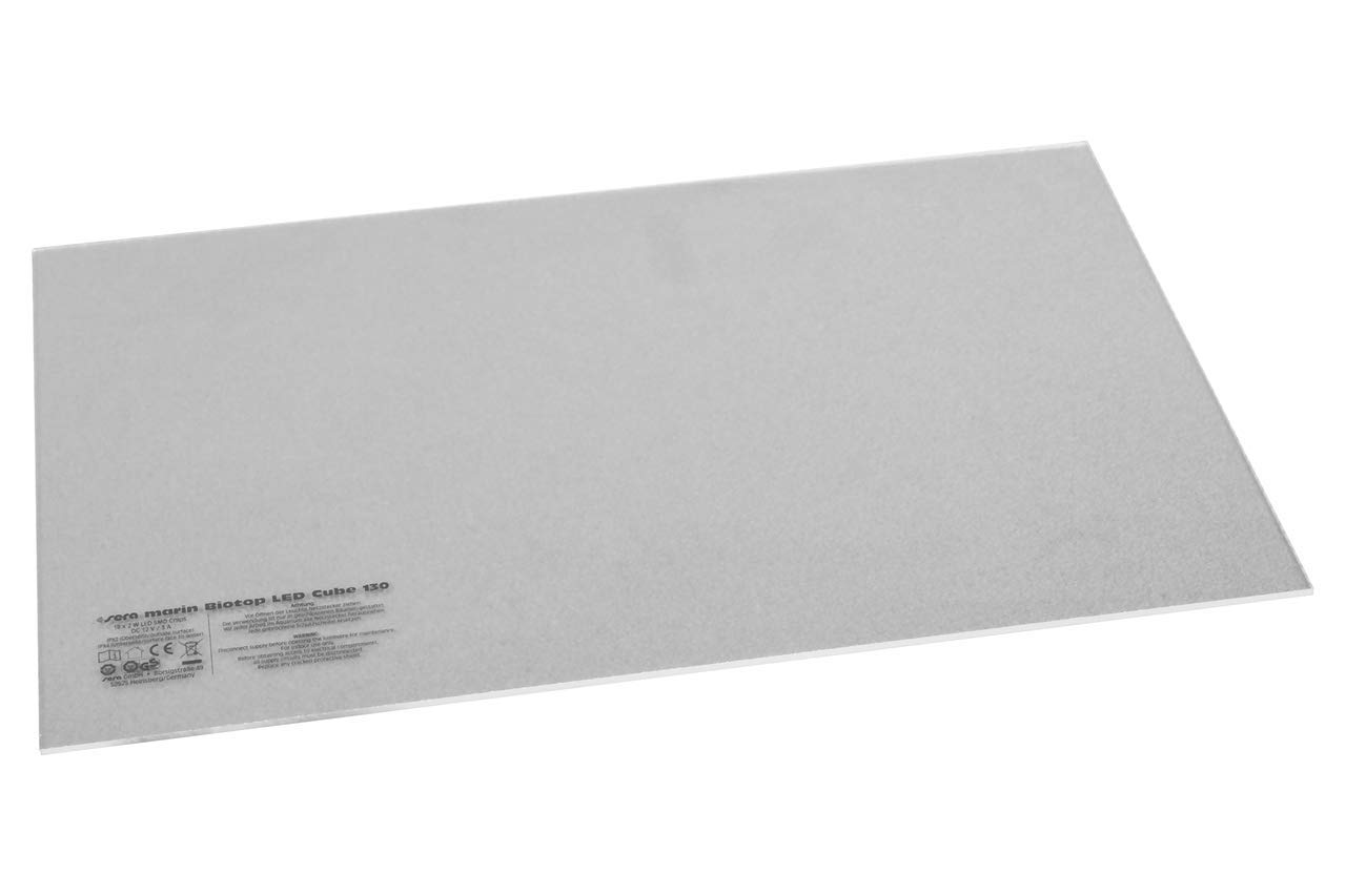 Cristal Transparente para portavelas Marin Biotop LED Cube 130 Sera 31159
