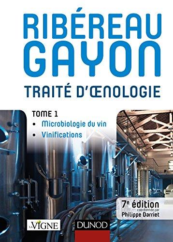 Télécharger Traité d'oenologie : Tome 1, Microbiologie du vin, vinifications () PDF Ebook En Ligne