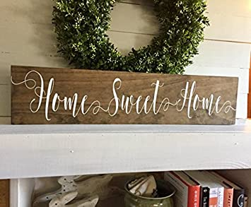 Amazon.com: onepicebest Wood Signs, Established Wood Sign ...